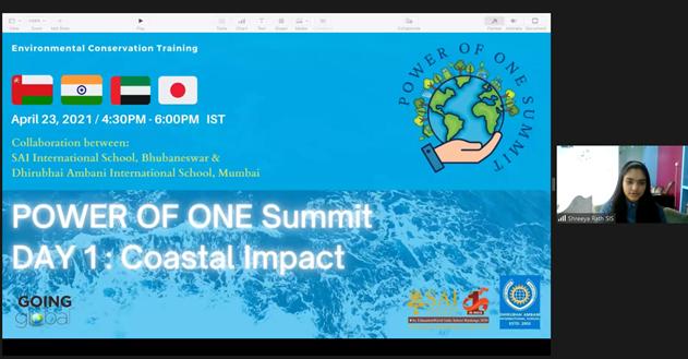 Costal Impactで高校1年生が日本の海洋について発表