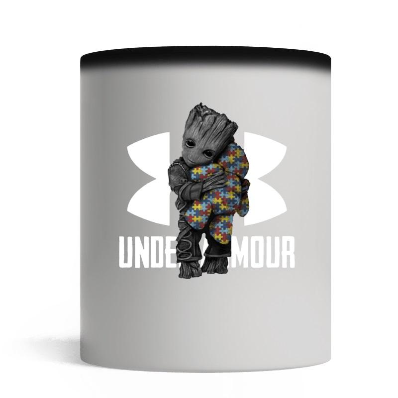 Nice Under Armour Baby Groot Hug Teddy Bear Autism shirt ... d08d598fa