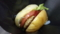 まるみ豚のハンバーガーを食らう