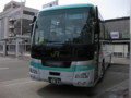 [trp-Hayabusa1st]Jr-Bus-HaybusaColor-and-Number8823-in-AomoriStation
