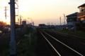 Yumemino-station, KantoTetsudo-JohSou-line, KokaiGawa-FlowerCanal-2012