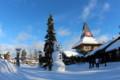 [trp-Finland13]Snowman,01,SantaClausVillage,Rovaniemi,LapLand,tour-Finland-2013