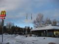 [trp-Finland13]p02,Northenmost-McDonaldShop-in-the-World,Rovaniemi,LapLand,tour-Finland-2013