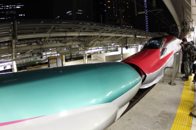 E6-and-E5,jr-east,tokyo-station