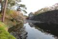 [trp-ao1405]Tenshu-kaku,from-Kita-Uchibori,Hirosaki-Park
