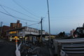 [trp-ao1405]sunset-ChuoHirosaki-station,Hirosaki