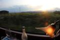 [trp-twi1409]Sunset,Car1-r4,TwilightExpress8002,Hokkaido