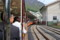 Unazuki-station,TruckTrain-Kurobe-Kyokoku-RailRoad,toyama