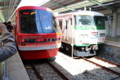 [trp-izu18]Resort21-train-and-izuno-odoriko-go,izukyu-Shimoda-st,shimoda-shizuoka