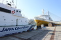 [ao2003]Memorial-ship-HakkodaMaru and Oirase-JapanCostGuard,aomori-port
