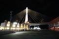 [ao2003]A-factory and Aomori-Bay-Bridge,in-night-view,Aomori-station