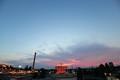 [toshimaEn-2008]Sunset,Rooftop-FlyingPirates,Toshimaen,Nerima-tokyo