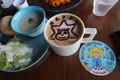 Birthhday-LatteArt,Skytree-Cafe-340,Tokyo-sky-tree,sumida-tokyo