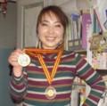 メダル2つ取りました!