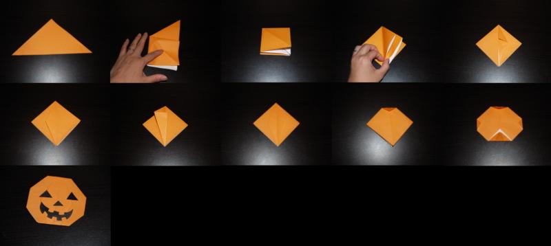 クリスマス 折り紙 折り紙 ハロウィン かぼちゃ : yorozu-kotonoha.hatenablog.com