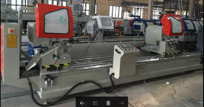 Sản xuất cửa nhôm bằng máy công nghệ cao