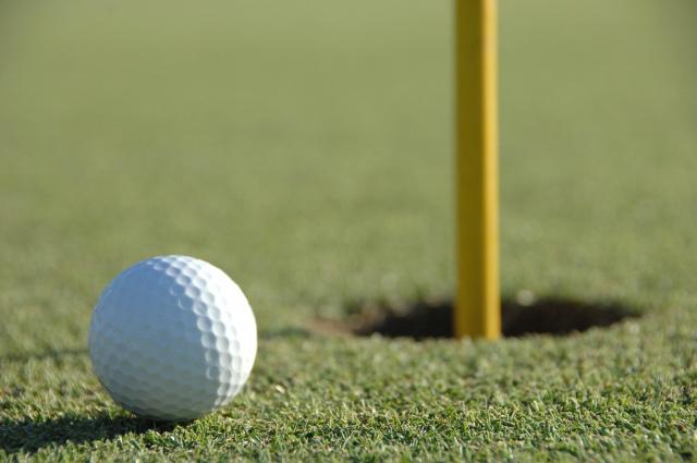 浅井健二のゴルフ画像