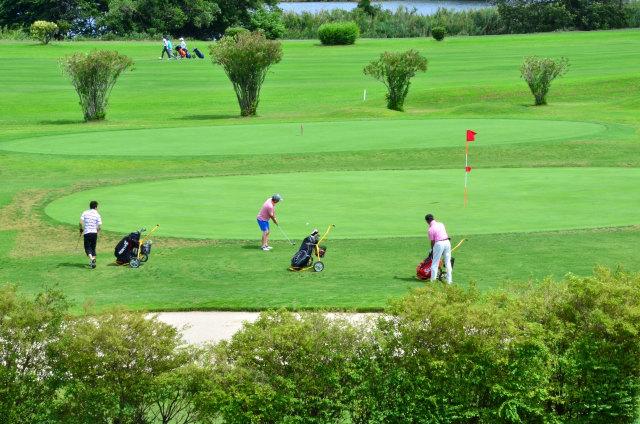 浅井健二とゴルフ場
