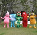 ヨーガバガバ着ぐるみ http://www.mascotshows.jp/category/yo-gabba-gabba.html