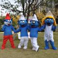 スマーフ家族着ぐるみ http://www.mascotshows.jp/product/smurfs-mascot-adult-costume.h