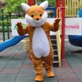 きつねと猟犬 ディズニーキャラクター着ぐるみ http://www.mascotshows.jp/p