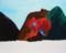かえると山2010,Oil on canvas 606×500�