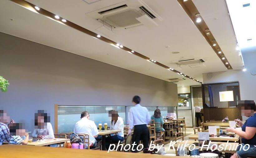 京都駅はしたて、店内
