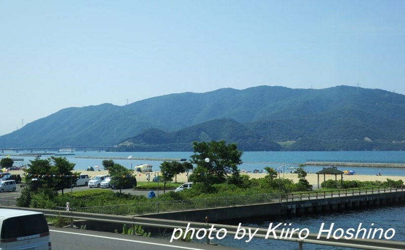 青春18京都・若狭、海水浴場