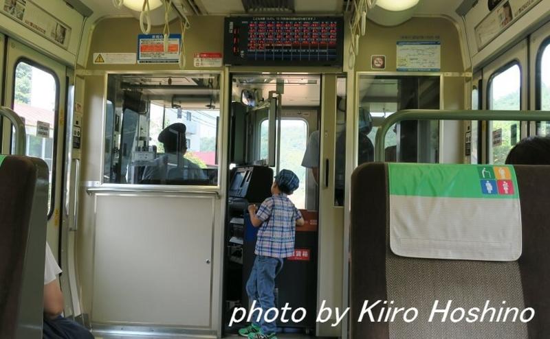 青春18京都・若狭、舞鶴線社内