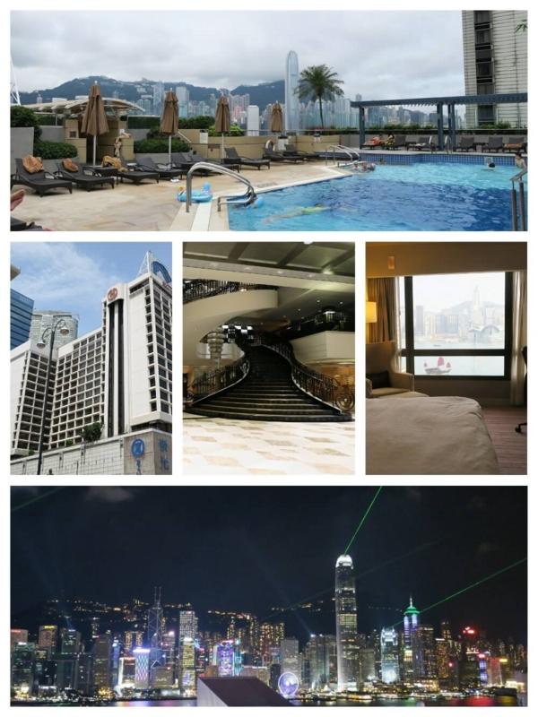たびねす、香港シェラトンCollage