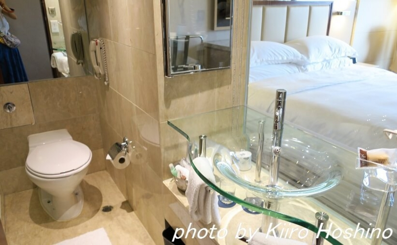 たびねす、シェラトン香港、バスルーム