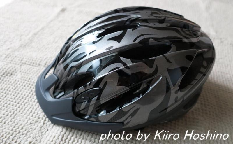 子供自転車ヘルメット、斜め