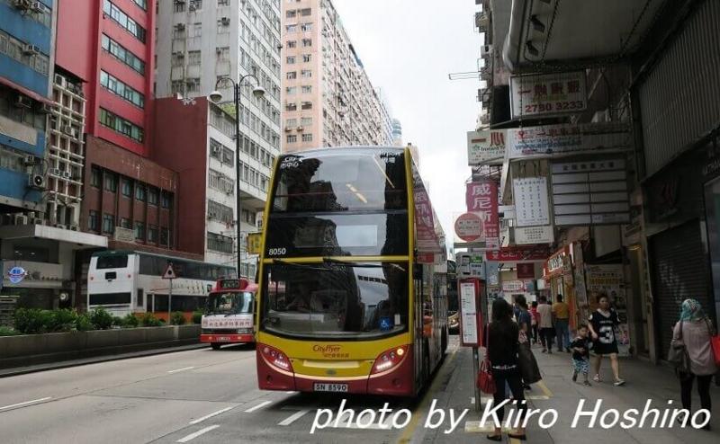 香港乗り物、2階建てバス