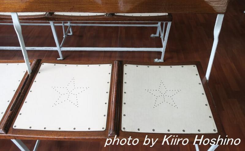 香港乗り物、スターフェリー椅子
