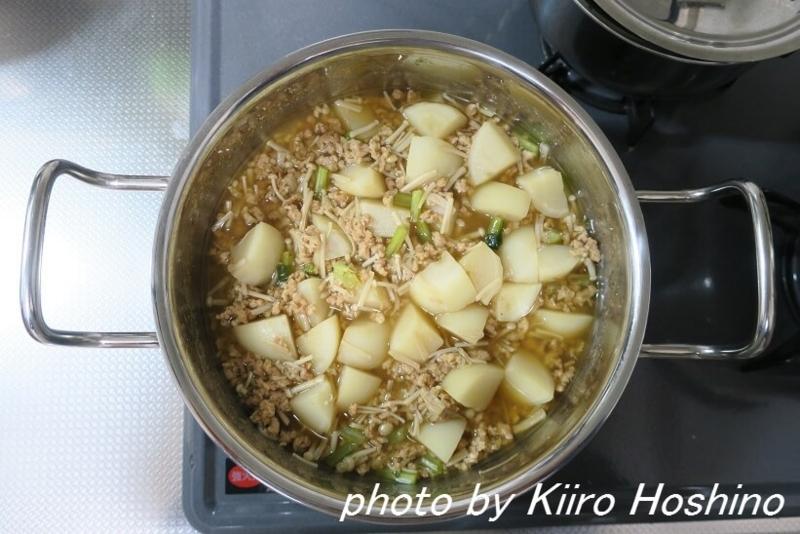 作り置き11.11、かぶのそぼろ煮・鍋