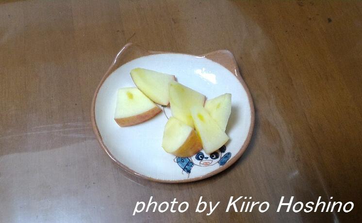 お弁当、2016-11-21、小さいりんご