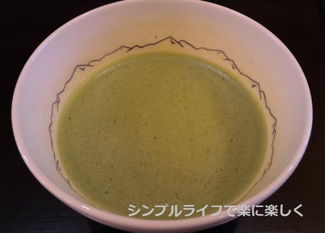 虎屋茶寮・京都一条店、抹茶
