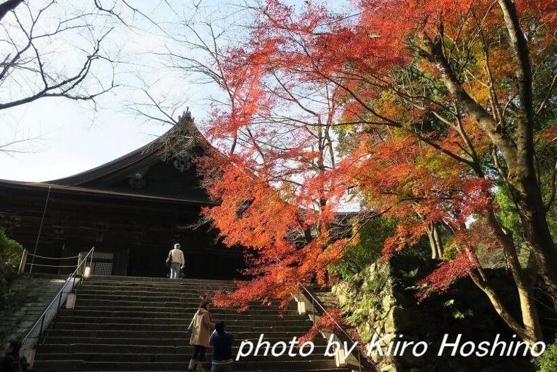 三井寺、金堂への階段