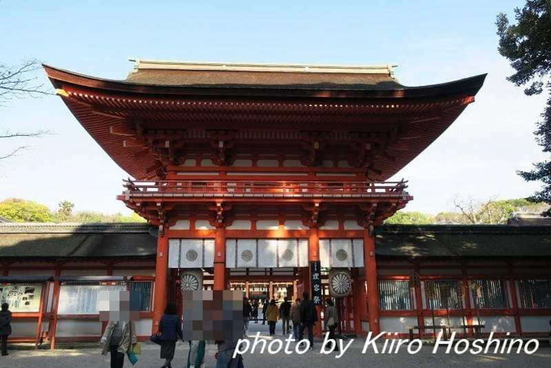 下鴨神社、楼門