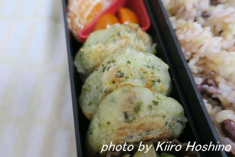 お弁当、2016-12-9、のり塩ポテト