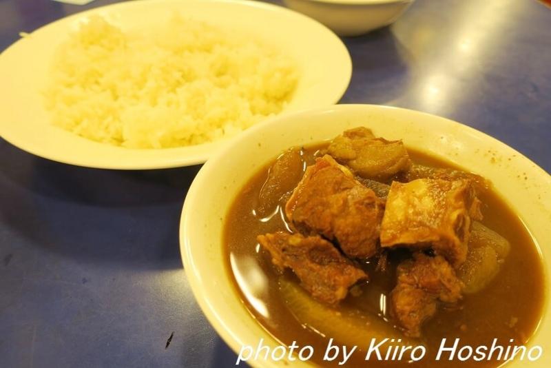 香港・鶏記、牛バラ肉ライス