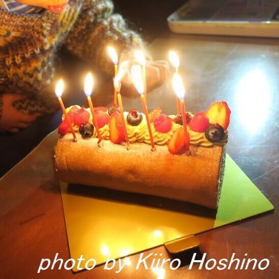 8歳誕生日、ケーキ