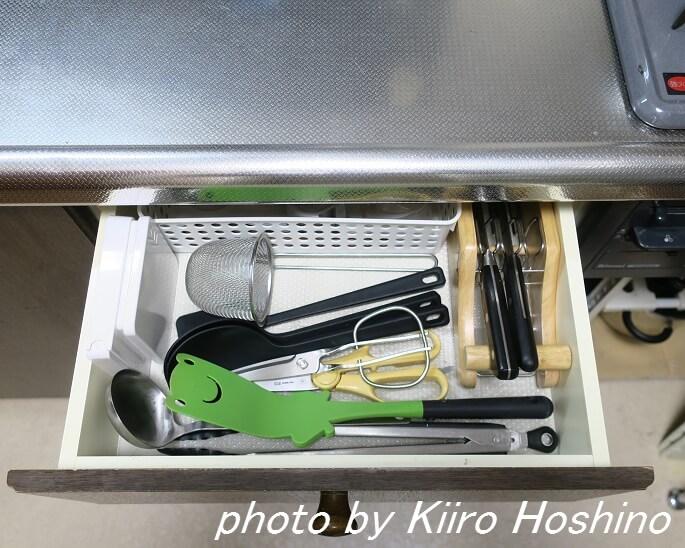 調理器具、引き出し