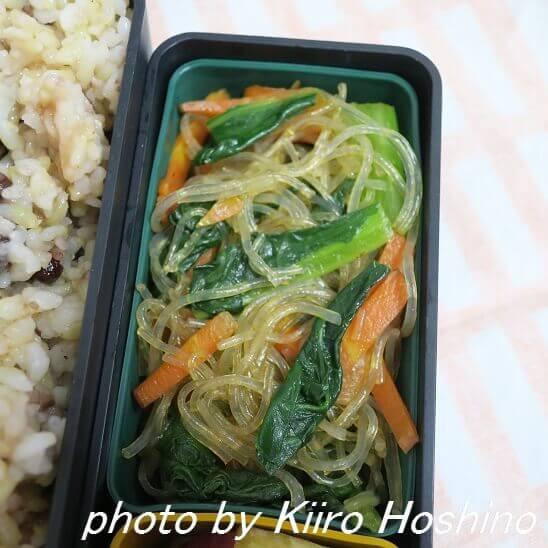 春雨と小松菜炒め