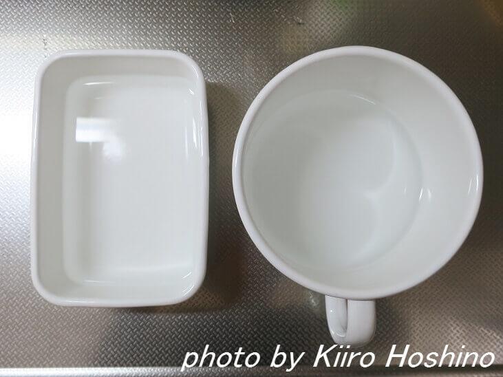 野田琺瑯、漂白before
