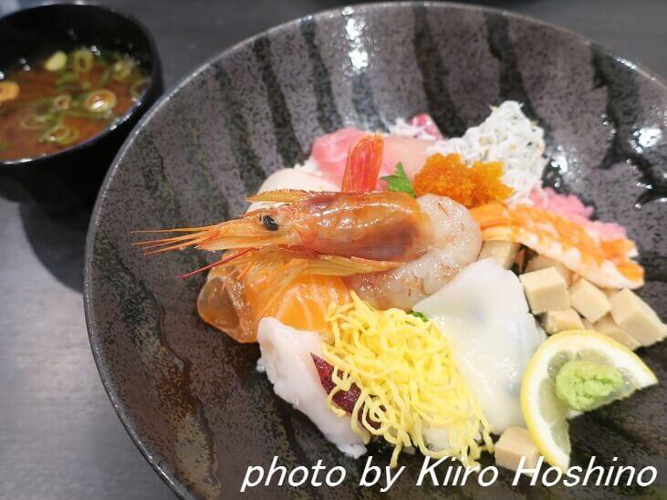 海鮮丼ランチ