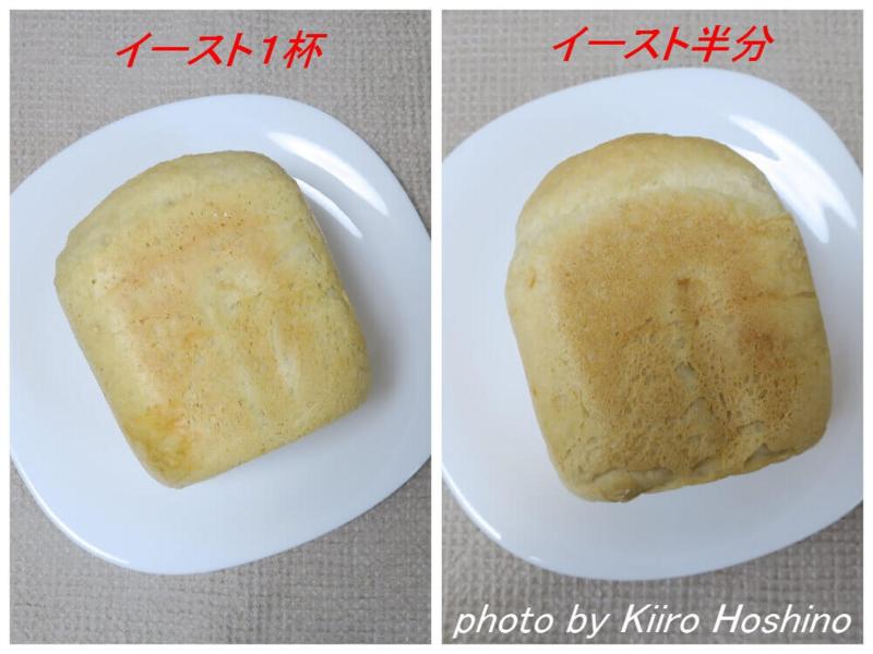 HBフランスパンとパンドミ比較