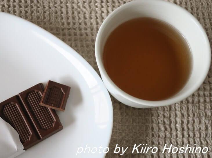 ピープルツリー・ココナッツミルク、紅茶とともに