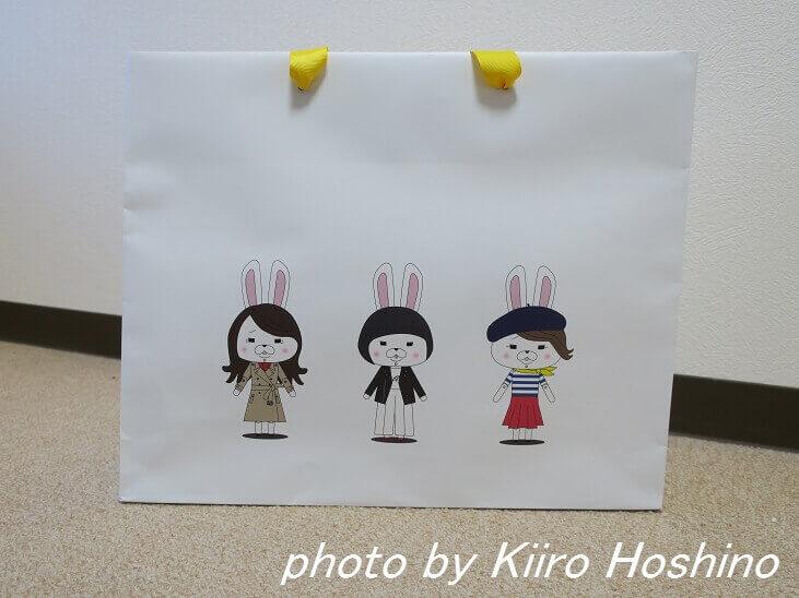 ロペピクニック、紙袋