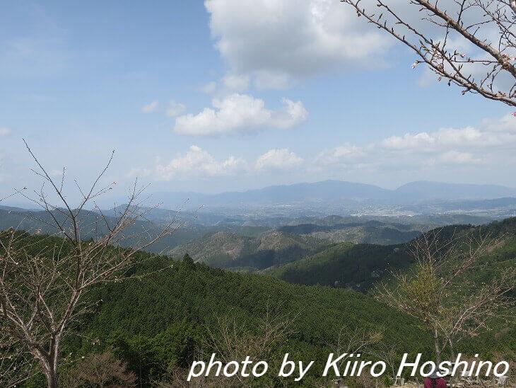 吉野桜、奥千本景色